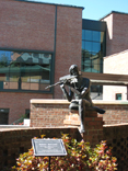 Ronnie Walker sculpture, ASU - Boone
